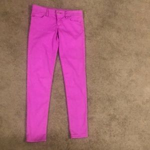 NWOT Lilly Pulitzer Pink Worth skinny pants!